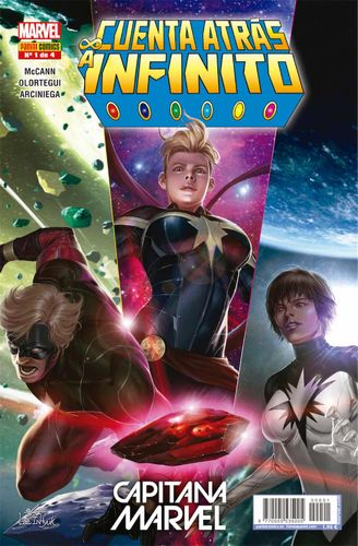 Cuenta Atras a Infinito Heroes Marvel Nº01