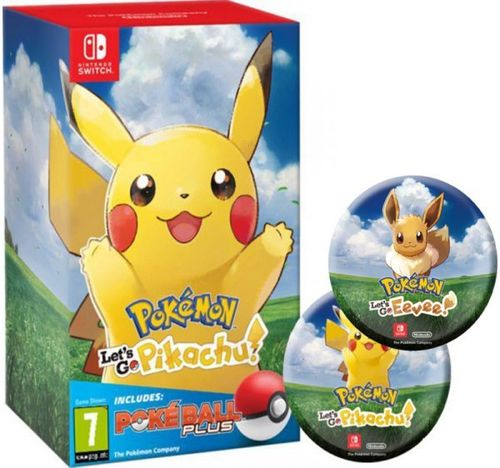 Pokemon Let's Go Pikachu!+Poké Ball Plus SWITCH