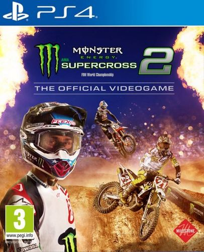 Monster Energy Supercross: El Videojuego Oficial 2 PS4