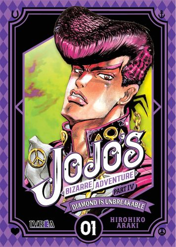 Jojos Bizarre Adventure Diamond is Unbreakable  Nº01