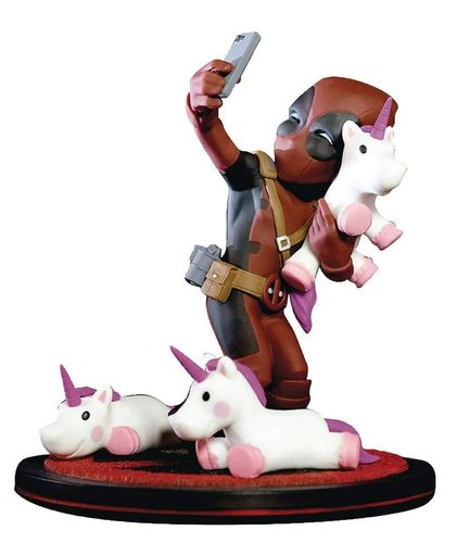 Figura Deadpool Unicorn 10cm Q-Fig