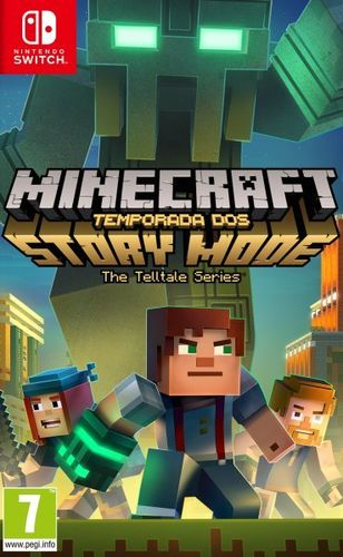 Minecraft Story Mode Season 2 SWITCH