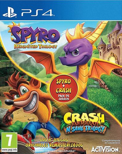 Crash Bandicoot N-Sane Trilogy + Spyro Reignited PS4