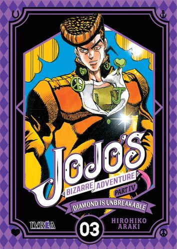 Jojos Bizarre Adventure Diamond is Unbreakable  Nº03