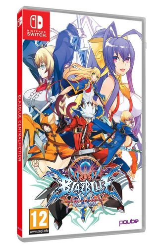 Blazblue Central Fiction Edicion Especial SWITCH