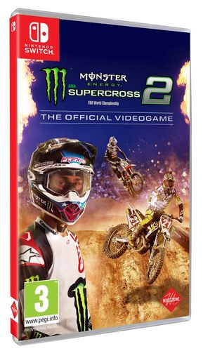 Monster Energy Supercross: El Videojuego Oficial 2 SWITCH