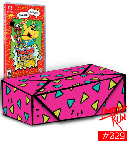 RESERVA Toejam and Earl: Back in the Groove Collector's Edition SWITCH
