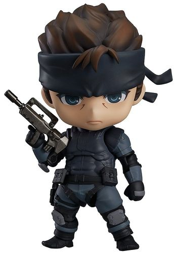 Figura Nendoroid Solid Snake Metal Gear Solid