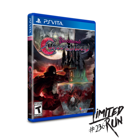 RESERVA Bloodstained Curse of the Moon VITA