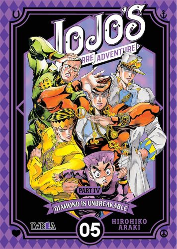 Jojos Bizarre Adventure Diamond is Unbreakable  Nº05