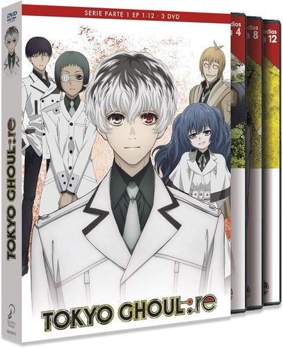 Tokyo Ghoul Re Box 1 DVD