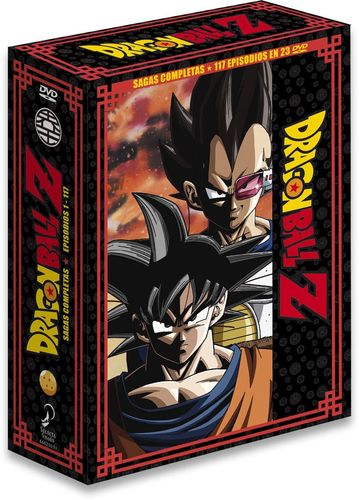 Dragon Ball Z Nueva Edicion Box 1 DVD