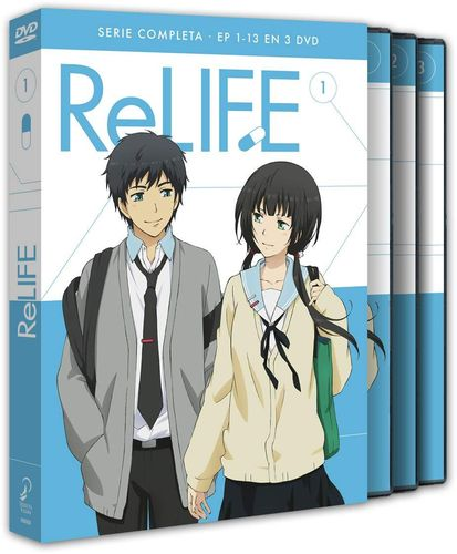 RE Life Serie Completa DVD