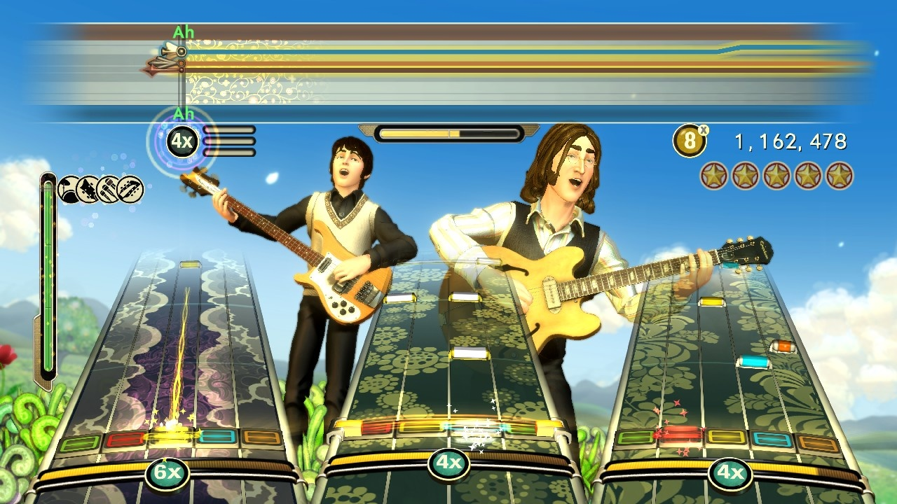 The Beatles RockBand Ps3 - Impact Game