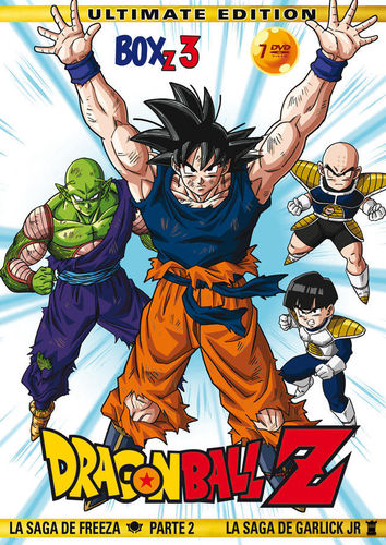 Dragon Ball Z Box 3: La Saga de Freeza (Parte 2) y Garlick Junior DVD