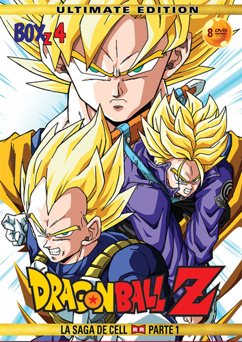 Dragon Ball Z Box 4: La Saga de Cell (Parte 1) DVD