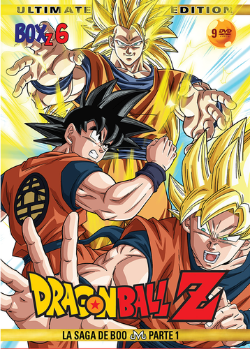 Dragon Ball Z Box 6: La Saga de Boo (Parte 1) DVD