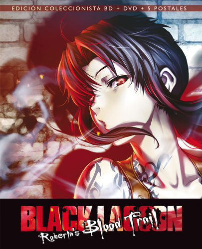 Black Lagoon: Roberta's Blood Trail Combo BR + DVD