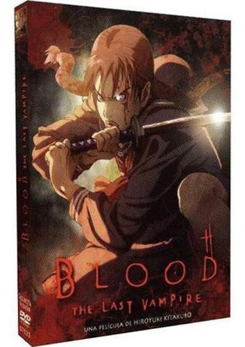 Blood The Last Vampire DVD
