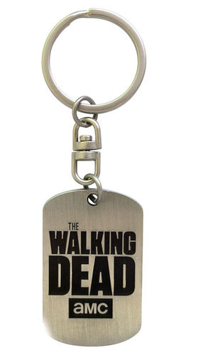 Llavero Placa militar The Walking Dead