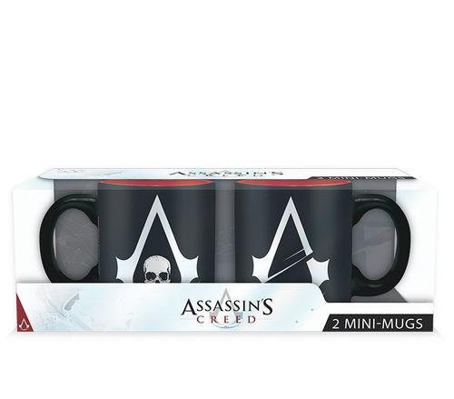 Pack 2 Mini Tazas Assassin´s Creed