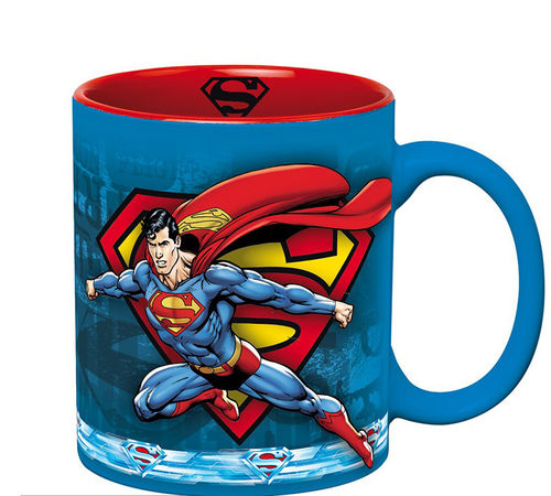 Taza DC Comics Superman Action