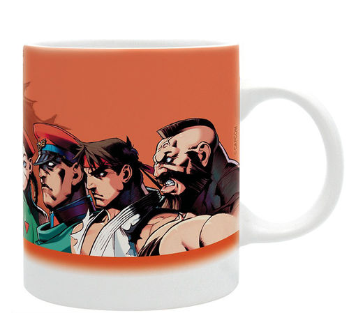 Taza Street Fighter