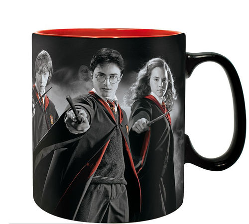 Taza Harry Potter, Hermion y Ron