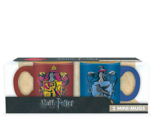 Pack 2 Mini Tazas Harry Potter  Gryffindor