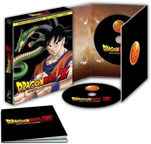 Dragon Ball Z Battle of Gods Extendida Edición Coleccionista BR