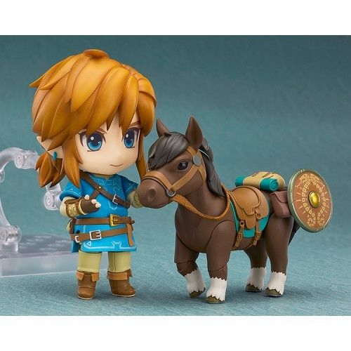 Figura Link Zelda Breath of the Wild Deluxe Nendoroid 10cm