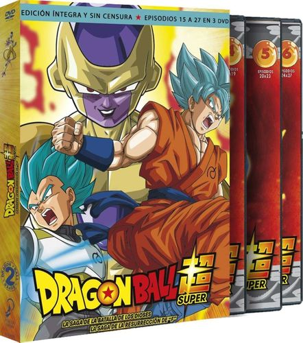 Dragon Ball Super Volumen 2 DVD