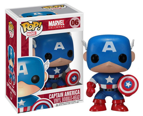 Funko POP Capitan America Marvel Comic
