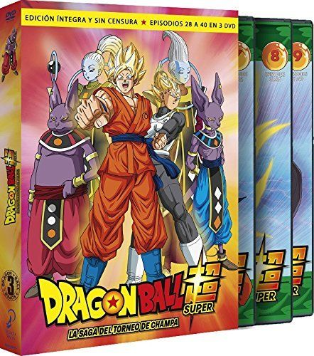 Dragon Ball Super Volumen 3 DVD
