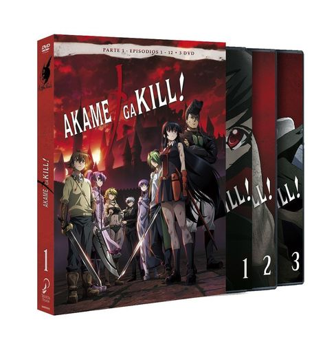 Akame ga Kill Box 1 DVD