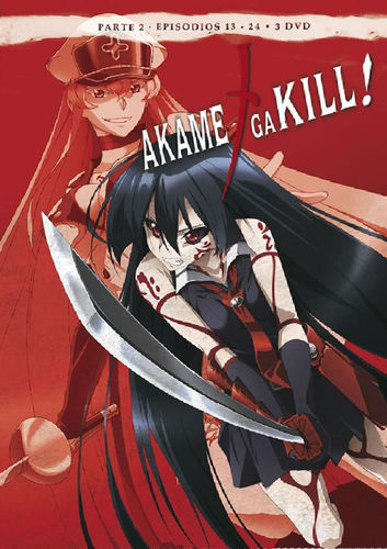 Akame ga Kill Box 2 DVD