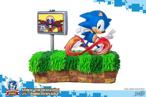 Figura Sonic the Hedgehog Diorama 25th Anniversary