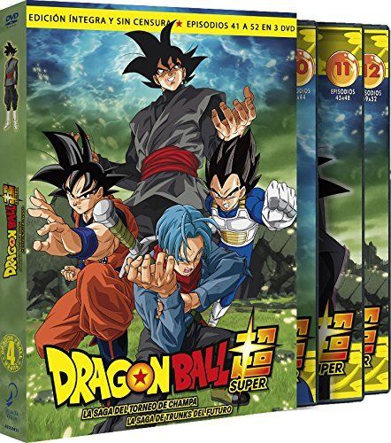 Dragon Ball Super Volumen 4 DVD