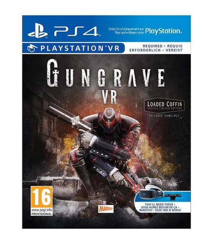 Gungrave Loaded Coffin Edition VR PS4