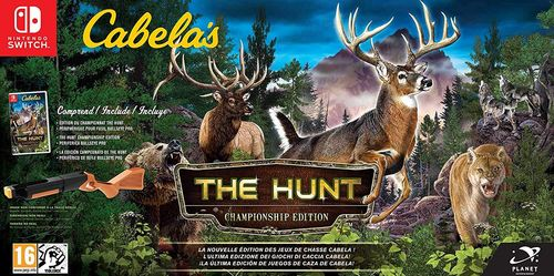 Cabela's- The Hunt Championship Edition SWITCH