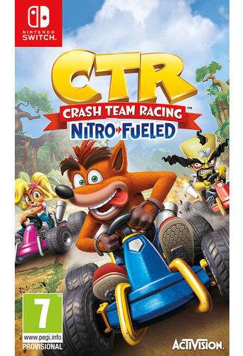 Crash Team Racing Nitro Fueled SWI