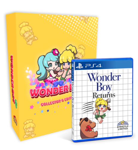 Wonder Boy Returns Collector´s Edition PS4
