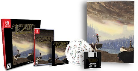 Another World 20th Anniversary Classic Edition SWITCH