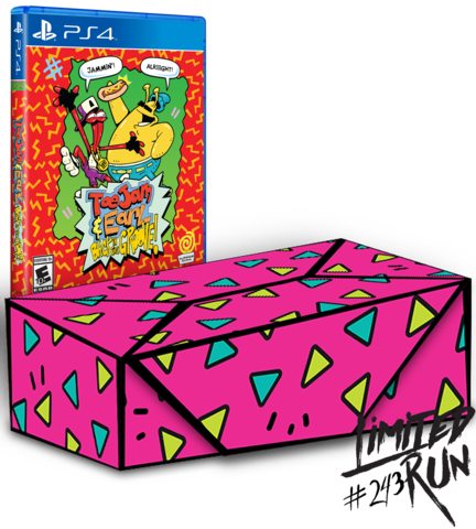 Toejam and Earl: Back in the Groove Collector's Edition PS4