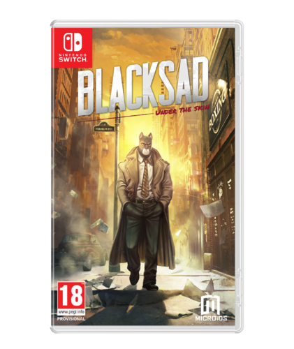 Blacksad: Under the Skin Limited Edition SWITCH