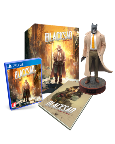 Blacksad: Under the Skin Collector Edition PS4