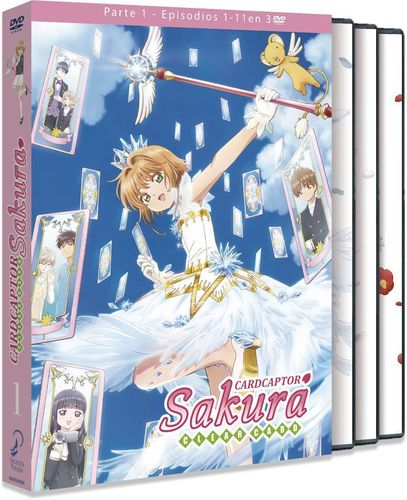 Card Captor Sakura Clear Card Box 1 DVD