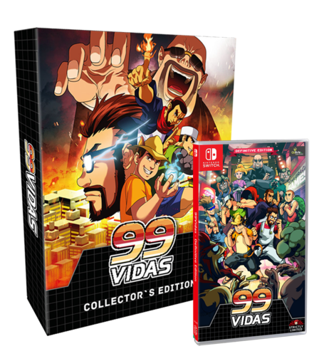 99 Vidas Collector's Edition SWITCH