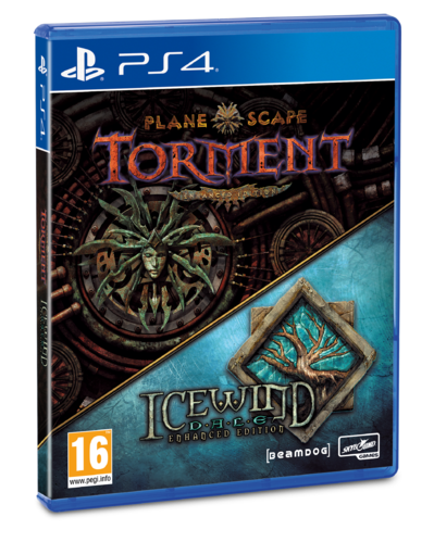 Planetscape Torment + Icewind Dale Enhanced Edition PS4