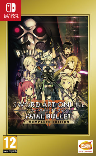 Sword Art Online Fatal Bullet Complete Edition SWITCH